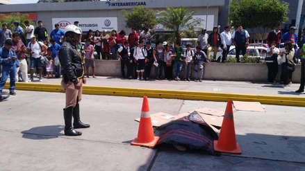 Chiclayo: bus atropella a escolar de 7 años en grifo de la avenida Salaverry