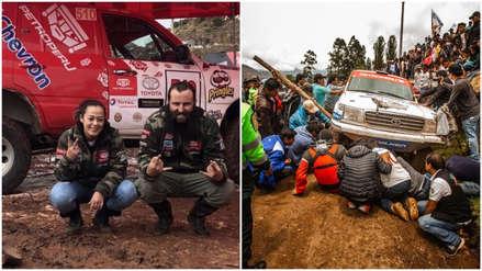 Caminos del Inca | El accidente de Fernanda Kanno visto desde dentro del vehículo