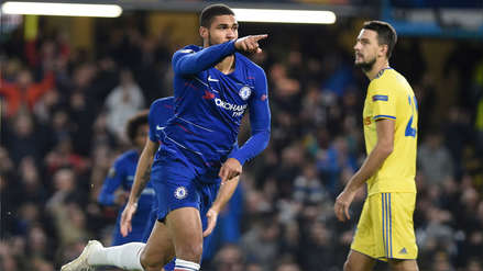 Chelsea venció al Bate Borisov y logra puntaje perfecto en la Europa League