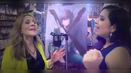 Saint Seiya: cantante oficial graba video con talentos peruanos