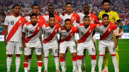 Selección Peruana subió al puesto 20 del ranking mundial de la FIFA