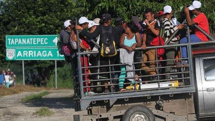 Más de 4,500 hondureños han vuelto al país tras abandonar caravana hacia EE.UU.
