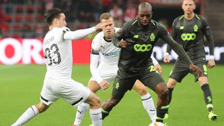Krasnodar perdió ante Standard Lieja en la Europa League