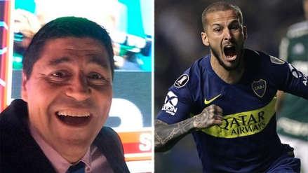 Boca Juniors: la emoción del 'Checho' Ibarra tras el doblete de Darío Benedetto