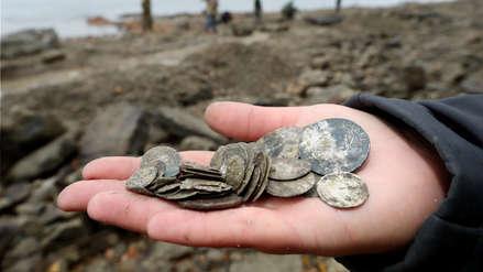 Fotos | Arqueólogos hallaron un tesoro entre los restos de un barco del siglo XVIII en el río Danubio