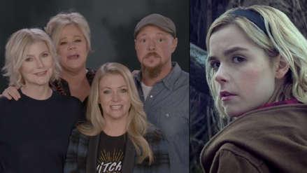 """""""El mundo oculto de Sabrina"""": Elenco de la serie original saluda a los actores del remake [VIDEO]"""