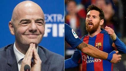 Barcelona | Infantino decidió si se jugará el Girona vs. Barza en Miami