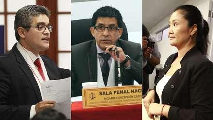 """Fiscal señala riesgo de obstaculización y Keiko Fujimori dice que juez """"ya tendría una decisión tomada"""""""