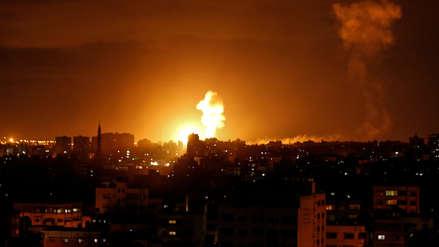 Israel bombardea Gaza tras lanzamiento de más de una decena de cohetes
