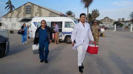 Trasladan órganos en avión de la FAP desde Chiclayo a Lima
