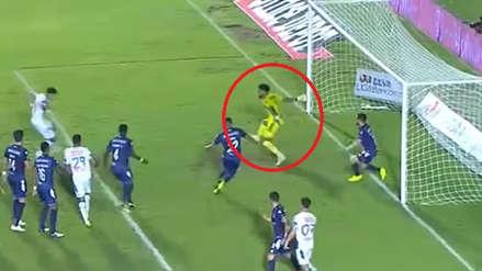 Pedro Gallese y su genial atajada en el duelo entre Veracruz vs. Pachuca