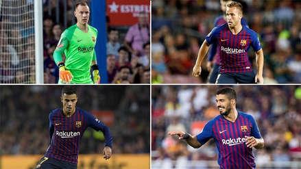 Barcelona vs. Real Madrid: El once confirmado del equipo culé sin Messi para el Clásico Español