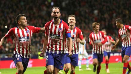 Atlético de Madrid derrotó 2-0 al Real Sociedad y es momentáneamente el líder en la Liga de España