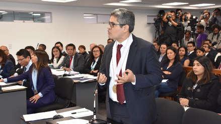 José Domingo Pérez cuestionó que el Ministerio Público no investigue las