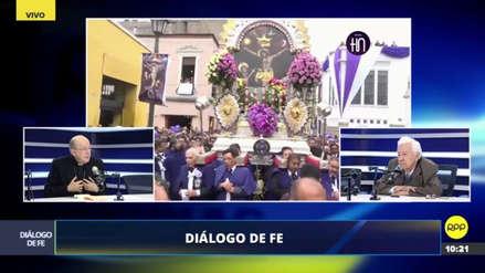 Juan Luis Cipriani destacó la participación de venezolanos en la procesión del Señor de los Milagros