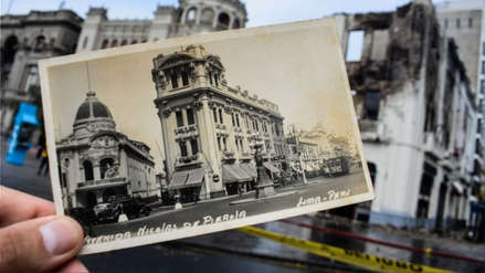 Fotos | Así quedó el histórico edificio de la Plaza San Martín tras el incendio