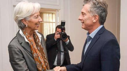 El FMI aprueba paquete de ayuda por 56,000 millones de dólares para Argentina