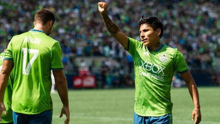 Raúl Ruidíaz marcó un doblete en el triunfo de Seattle Sounders por la MLS