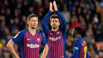 Gerard Piqué defendió a Sergio Ramos ante insultos de hinchas del Barcelona