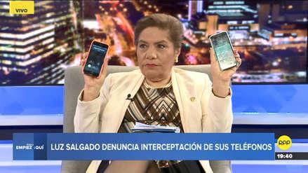 Luz Salgado denunció