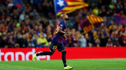 Barcelona vs. Real Madrid: Arturo Vidal anotó de cabeza para sellar la goleada