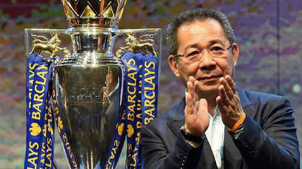 Leicester City: el presidente del club falleció luego de que su helicóptero se estrellara
