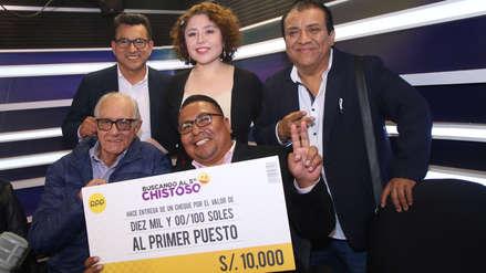 Los Chistosos: Marco Sánchez fue el ganador del concurso