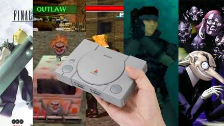 Se revela la lista completa de juegos de la PlayStation Classic Mini