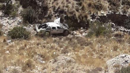 Policía y su familia murieron en  accidente de tránsito en Arequipa