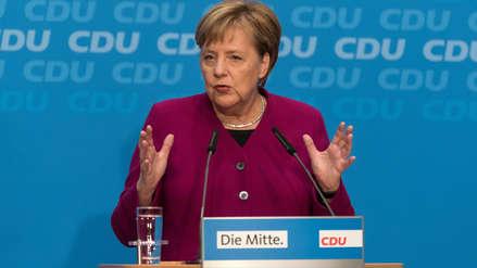 Angela Merkel confirma que no será candidata a canciller de Alemania en el 2021