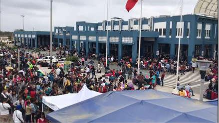 Más de 7,000 ciudadanos venezolanos esperan ingreso al Perú a dos días de que venza el plazo para el PTP