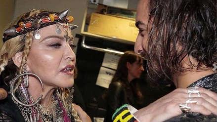 Madonna se burla del nuevo look de Maluma y lo llama