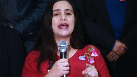 Verónika Mendoza dice que la