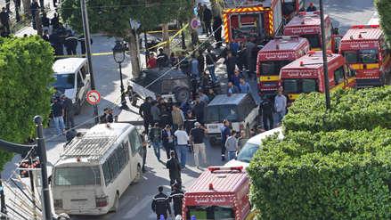 Atentado suicida de una mujer en Túnez deja al menos nueve heridos