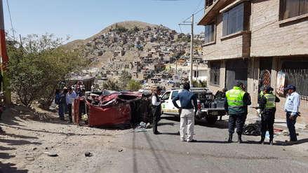 Video | Taxista ebrio atropelló y mató a contadora en Arequipa