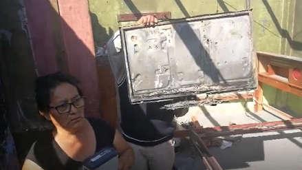 Chimbote | Niña de un año sufrió quemaduras tras incendiarse su vivienda por explosión de módem