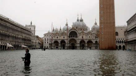 Fotos   Fuertes lluvias en Italia dejan a Venecia bajo el agua