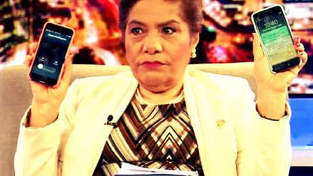 """Lo que podemos llamar y no llamar """"chuponeo"""": ¿Qué pasó con los teléfonos de la congresista Luz Salgado?"""