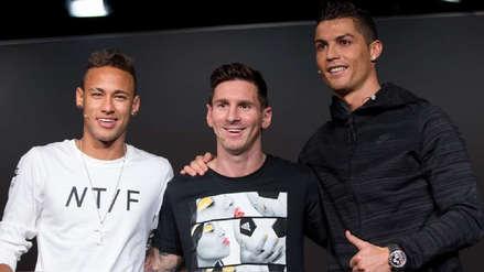 La reflexión de Neymar sobre el  talento de Cristiano Ronaldo y Lionel Messi
