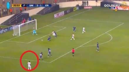 Alberto Quintero anotó desde fuera del área tras error defensivo de Sporting Cristal