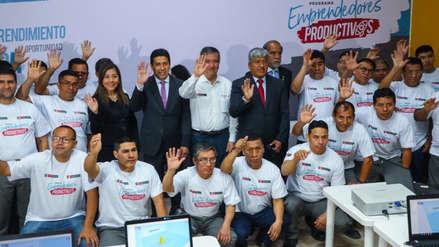 PRODUCE lanza piloto de capacitaciones 'Emprendimientos productivos' en las cárceles peruanas