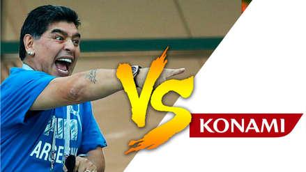 ¿Recuerdas el día en que Maradona denunció a Konami?