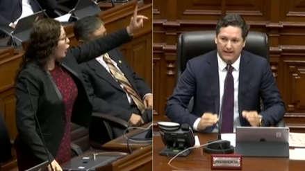 Salaverry y Bartra protagonizaron incidente en el Pleno: