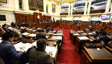 Pleno del Congreso debatirá el próximo lunes el informe final de la Comisión Lava Jato