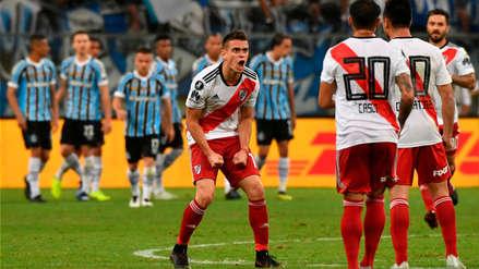 River Plate venció a Gremio con penal polémico y es finalista de la Copa Libertadores
