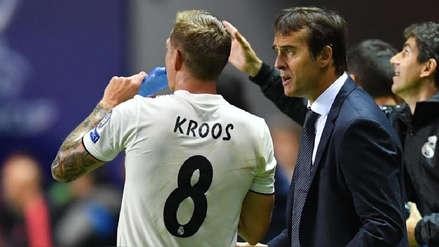 Real Madrid: Toni Kroos se despidió de Julen Lopetegui con sentido mensaje