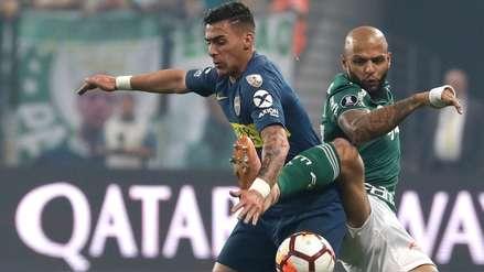 Boca Juniors vs. Palmeiras: la dura falta de Felipe Melo que pudo costarle la expulsión