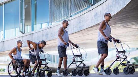 Tres hombres parapléjicos volvieron a caminar gracias a implantes eléctricos en Suiza