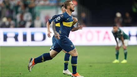 Boca Juniors vs. Palmeiras: gol de Darío Benedetto para el 2-2 en partido por la Copa Libertadores 2018