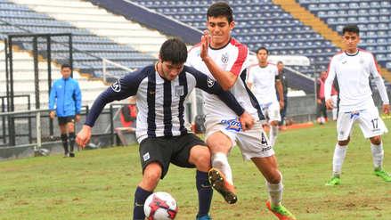 Alianza Lima cayó 2-1 ante San Martín por el Torneo de Reservas